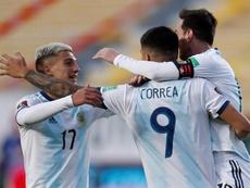 L'Argentine s'impose mais ne brille toujours pas. EFE