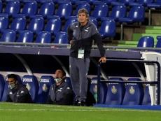 Pellegrini analizó el Betis-Eibar. EFE
