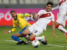 Zambrano est revenu sur la défaite du Pérou. EFE
