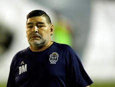 Diego Maradona says he dreams about scoring again. EFE