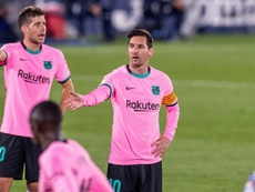City tentará trazer Messi à Inglaterra com todas as suas forças. EFE/Rodrigo Jiménez