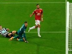 El United triunfó. EFE