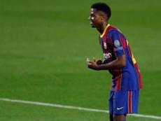 Le Barça veut blinder Fati. EFE