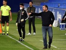 El Valladolid quedó muy dañado tras la derrota ante el Alavés. EFE