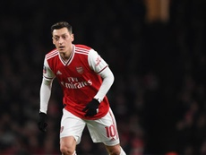 Mesut Ozil has been left out of Arsenal's squad list. EFE