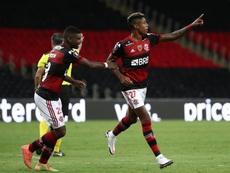 Jovens do Flamengo dão mais uma mostra de que não sentem. EFE