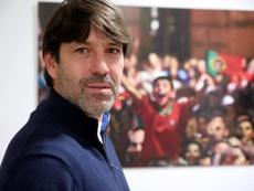 David Belenguer apuesta por la cantera para potenciar al Tondela. EFE/Carlos García