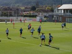 El Athletic se enfrenta al Celta. EFE/Archivo