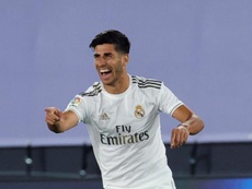 Marco Asensio has not got a serious injury. EFE