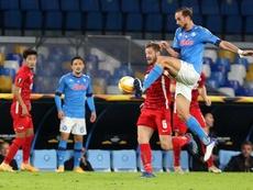 Il Napoli perde al debutto. AFP