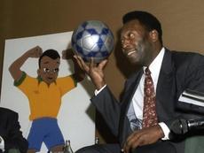 Pelé insiste en que es el máximo goleador de la historia. EFE