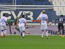 La Sampdoria tumbó al Atalanta. AFP
