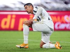Ronaldo absent face à l'Hellas Vérone mais de retour face au Barça ? EFE