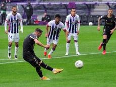 El Alavés se llevó un triunfo vital de Zorrilla. EFE