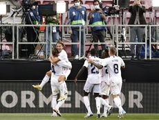 Ramos anotó el 1-2 desde los once metros. EFE