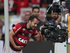 Hugo, Pedro, Everton Ribeiro e jovens ganham destaque. EFE/Marcelo Sayão/Arquivo