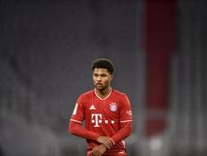 Gnabry de retour avec le Bayern après un faux positif à la Covid-19. EFE