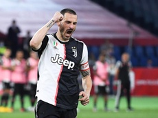 Bonucci is still a doubt for the Barcelona match. EFE