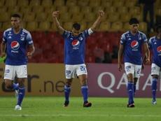 Millonarios pasó a las semifinales de la Liguilla BetPlay. EFE