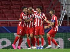 Javi Serrano estará hasta el 2025 en el Atlético. EFE