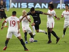 La triste stat offensive de Rennes contre Séville. EFE