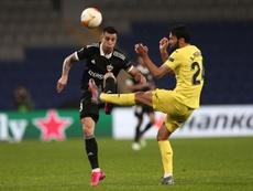 El Villarreal tuvo que remontar pese a dominar durante todo el partido. EFE