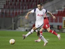 Bale, titular ante el Antwerp. EFE/EPA