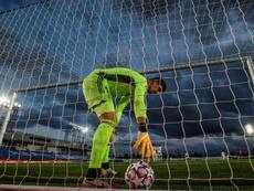 Le groupe du Real Madrid pour affronter Huesca. efe