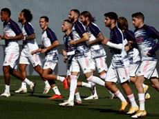 Giocatore del Real Madrid positivo al COVID-19. EFE