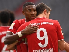 David Alaba is wanted by many teams. EFE