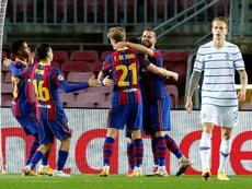 Les compos probables entre Kiev et le Barça. EFE