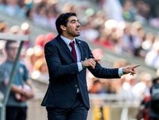 O Al Rayyan quer a contratação de Abel Ferreira. EFE/Octavio Passos/Arquivo