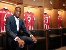 Kondogbia could start for Atlético. EFE/Atlético De Madrid