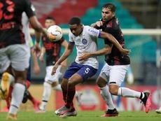 Bahía se mantiene a seis puntos de la Liguilla Libertadores. EFE/Archivo