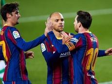 Las posibles alineaciones del Barcelona-Osasuna. EFE
