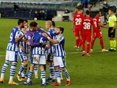 La Real Sociedad venció a un Granada deshecho por las bajas. EFE