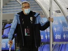 En el año del aniversario del estadio Centenario de Montevideo. EFE