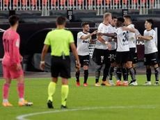 El Valencia goleó de forma histórica al Real Madrid. EFE