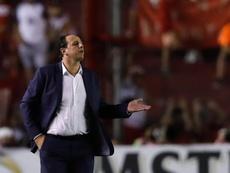 Ceni repete números do Cruzeiro e chega à 2ª eliminação em duas semanas. EFE/Juan Ignacio Roncoroni