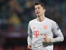 Robert Lewandowski has a contract until 2023. EFE