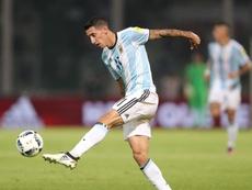 Técnico da Argentina falou sobre Di María. EFE/Nicolás Aguilera