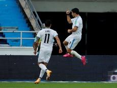 Luis Suárez tests positive for COVID-19. EFE