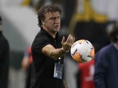Em alta no Santos, Cuca nunca viu o Botafogo tão mal. EFE/ Guilherme Dionizio Pool