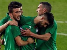 Euskadi quiere jugar en competiciones UEFA y FIFA. EFE