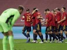 La Spagna travolge la Germania. EFE