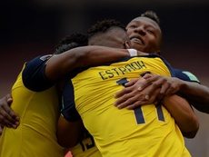 Ecuador ganó 6-1 a Colombia. EFE