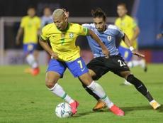 Le Brésil remporte le choc face à l'Uruguay. EFE