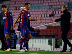 Sergio Busquets is in doubt for Kiev. EFE