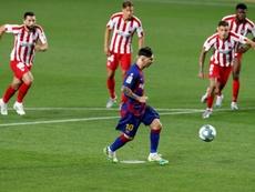 El Atleti y el Barça jugarían el campeonato. EFE