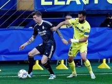 Tablas entre Villarreal y Real Madrid. EFE